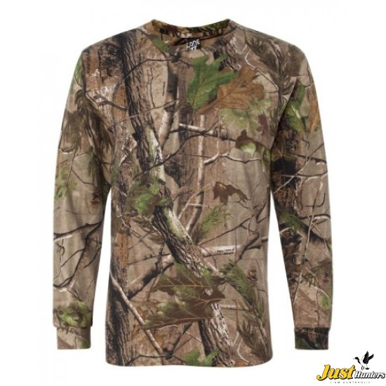 *BRAND NEW* CODE V CAMOUFLAGE T-SHIRT KIDS HUNTING SHIRT YOUTH SIZE CAMO SHIRT