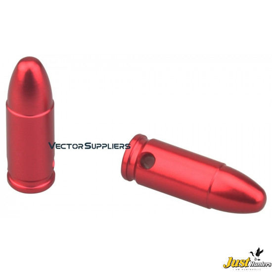 Vector Optics 9mm Precision Dry Fires Snap Caps For Safety Training Patrice Dummy Rounds Aluminum