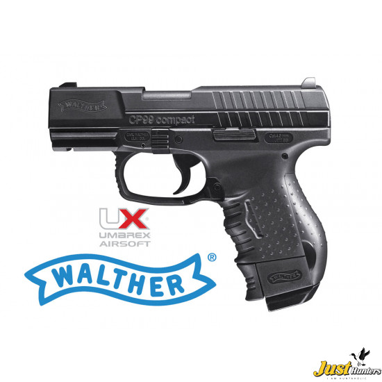 Walther CP99 Compact Co2 Powered Blowback 4.5 mm Cal.