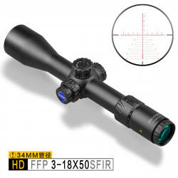 Discovery Optics Scope HD 3-18X50 SFIR FFP