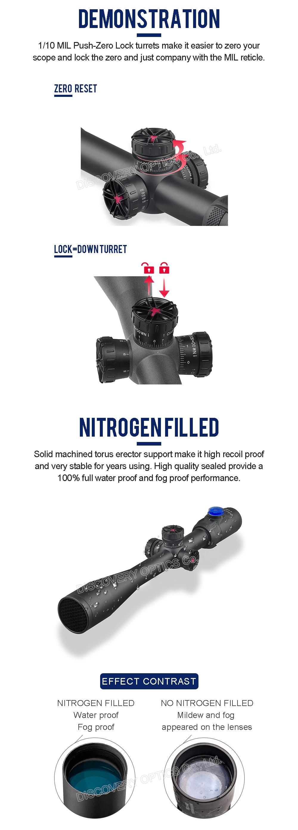 Discovery-optische-zicht-HI-8-32X50SFIR-HK-SFP-IR-MIL-scope-Tactical-Lange-Afsta