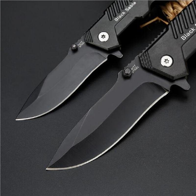 Buy Cold Steel Black Sable Folding Knife Online Best Price